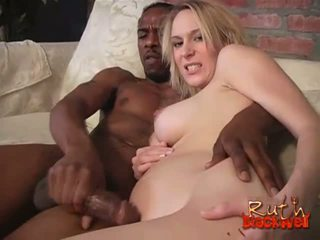 blondes, big cock, interracial