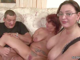 menyecske, szex hármasban, hd porn
