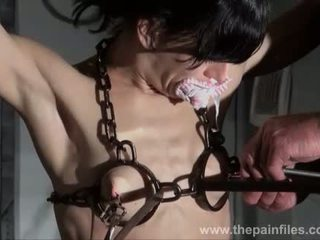 चूची tortured और caged slaveslut elise graves