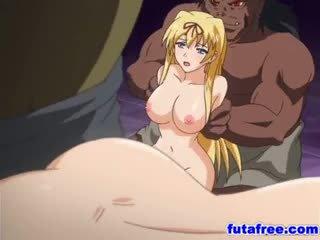 Blondinka futagirl gets her holes pumped