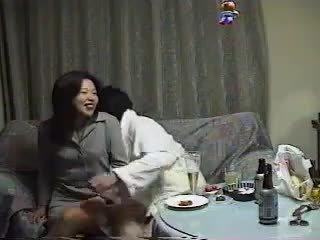 coreano, amateur, asiático
