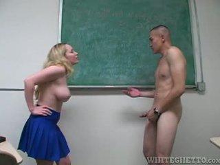 Aiden starr takes penjagaan daripada 2 perverts dalam beliau sekolah bilik darjah