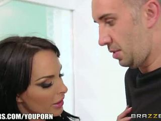Dirty cop Holly Halston loves big dick