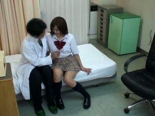 japanisch, sex, schülerin