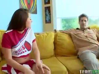 young, schoolgirl, cheerleader