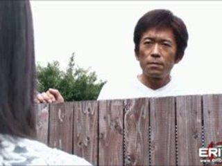 ضخم الثدي اليابانية فتاة التالى باب hanna tied و حلمة الثدي مارس الجنس