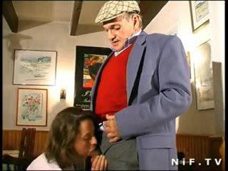 francese, milfs, sesso a tre