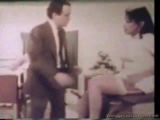 Retro pieprzenie the pielęgniarka