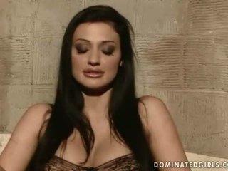 brunette, humiliation