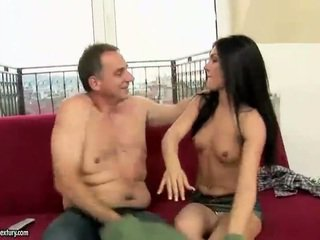 Grandpa Fucking Hot Young Brunette Attractive Hard
