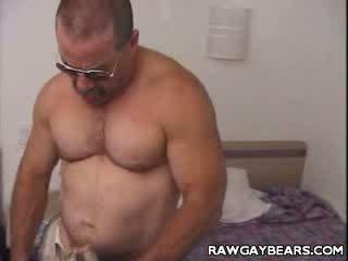 Buffed Bear Stripping