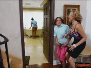 Hot Maid Abby Lee Brazil 3some With Huge Hooters Stepmom