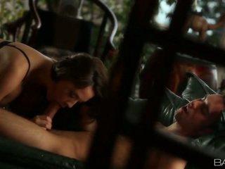 μελαχροινή παρακολουθείστε, φρέσκο hardcore sex hq, γεμάτος γαμημένο μουνί