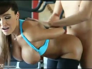 PureMature HD Lisa Ann gets fucked hard in the Gym
