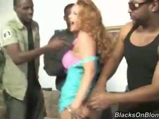 skupinový sex, gang bang, interracial