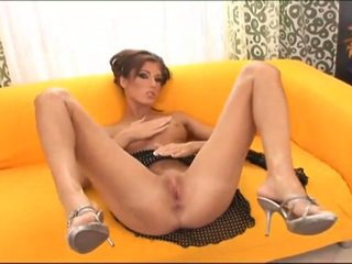 Squirting sexy girl prefers hard doggy penetration