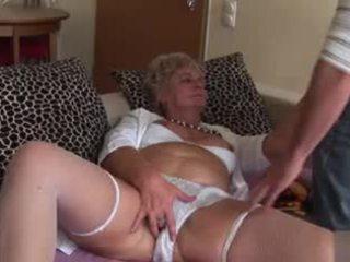Mėgėjiškas analinis senelė - labai nešvarus!