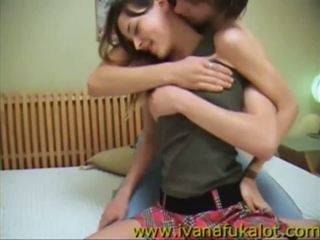 Teen couple make their first home tape