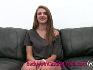 Teen Master Cocksucker Mia on Backroom Casting Couch