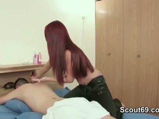 млад, масажистка, тийнейджър
