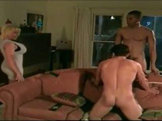 Jake and Lovette in a foursome scene