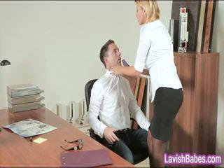 Ofis jana anna polina banged real good