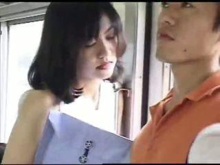 japoński, seks, pociąg
