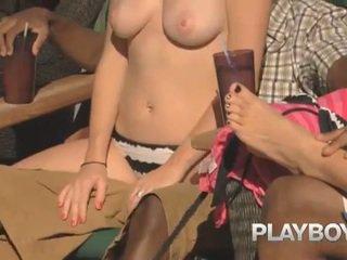 Playboy wingers mögött a jelenetek