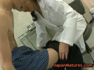 Splendide mature natsumi kitahara does