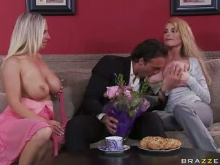 Hot MILFs Devon Reed And Taylor Wane Threesome Fucked Video