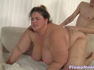 Cocksucking BBW Beauty Fucked Doggystyle, Porn 30