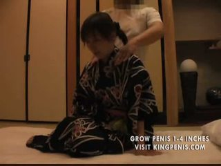 Massage in the japanese style hotel part1