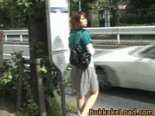Cute Asian Babe Attacked On A Bus Ride