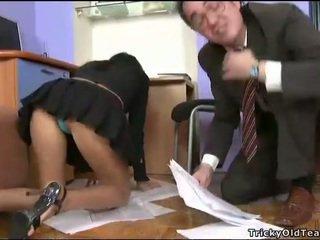 fucking, študent, hardcore sex