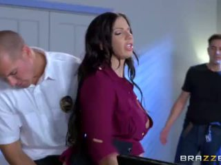 Brazzers - Cop fucks the info out of L...
