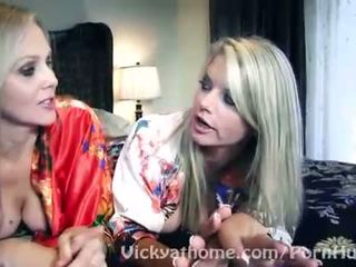 Superstar MILFS Vicky Vette & Julia An...