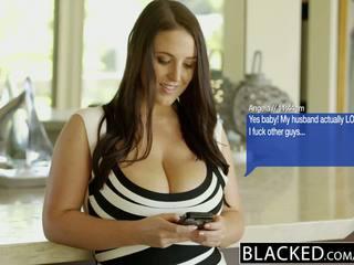 Blacked голям естествен цици австралийски мадама angela бял fucks bbc