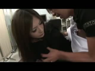 Sexy Japanese Doctor Gets Double Fucked Video