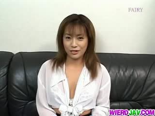Ayumi gorące sperma uczta