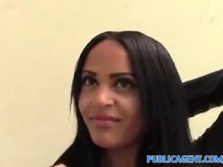 PublicAgent Kimberly gets her tight pu...