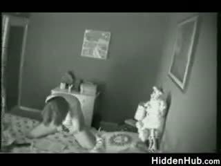 Mati zasačeni mastrubacija s a skrite camera