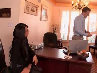 סקסי מזכירה banged על ידי the בוס