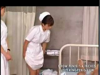 Japonesa estudiante nurses entrenamiento y práctica part1