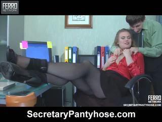 Alana charley sekretāre zeķbikses filma