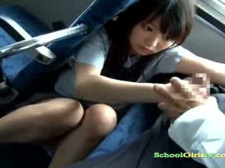 Schoolgirl babe Getting Her Mouth Fucked Sucking a Guy off