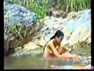 Roztomilý vietnamský dospívající