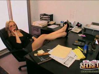 kantoor een, u office sex, zien cumshot meest