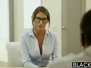 Blacked august ames gets an flere raser creampie