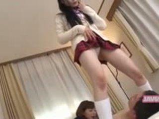 Όμορφος/η seductive κορεατικό κορίτσι γαμήσι