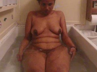 groß, beute, nackt